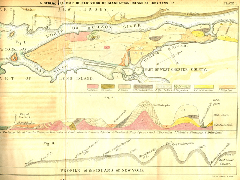 New York City On Map Of Usa.The Minerals Of New York City A Review Of The History Of Mining And