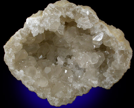 Photographs Of Mineral No 22379 Barite In Quartz Geode