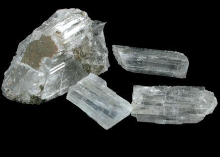 Photographs of mineral No  30900: Kernite from Boron, Kern