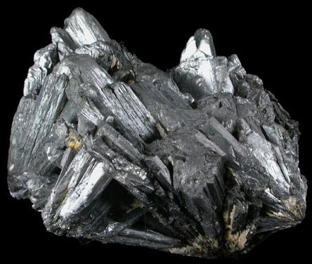 Stibnite from San Genaro Mine, Huancavelica, Peru
