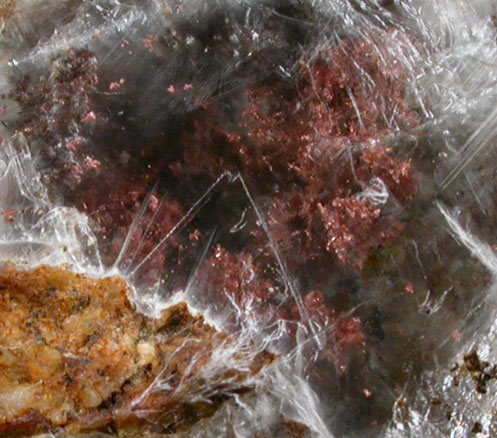 Photographs Of Mineral No 44898 Copper In Gypsum From