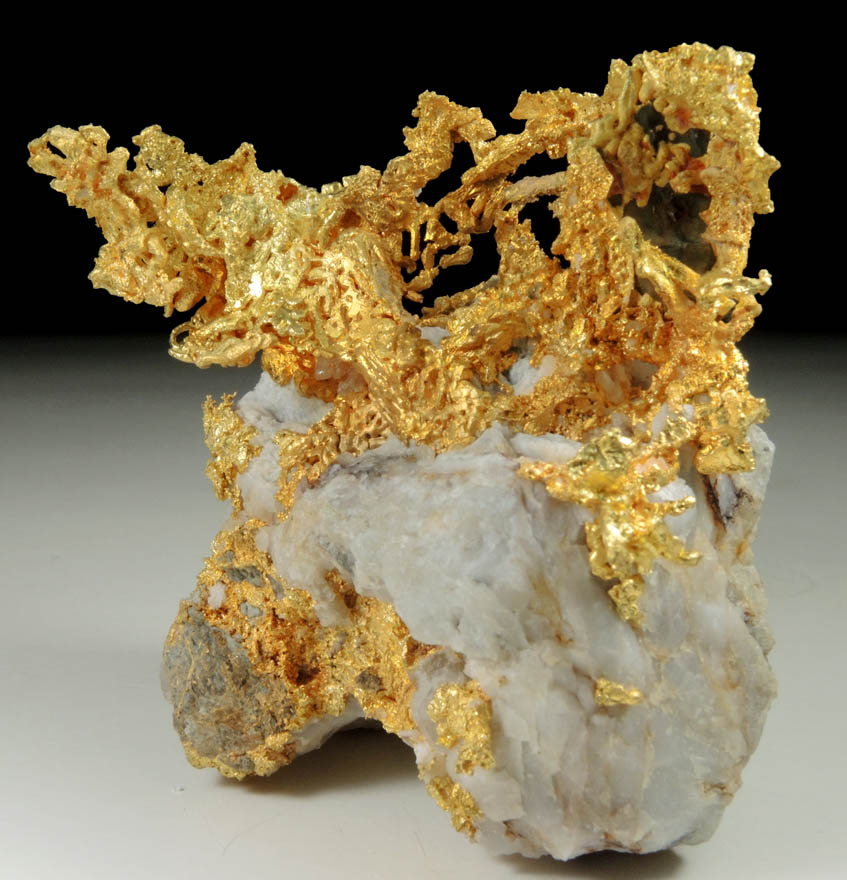 Photographs Of Mineral No. 59576: Gold (crystallized) In